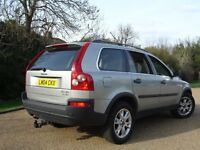 /// VOLVO XC90 2.4 AUTOMATIC DIESEL /// 2004 PLATE 7 SEATER /// LEATHERS BARGAIN JEEP 4X4