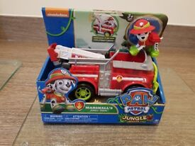 Paw Patrol Marshall's Jungle Rescue Truck ( Brand New Boxed)
