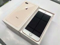 Iphone 8 pluse 256gb