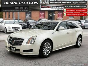 2010 Cadillac CTS 3.0L AWD! Rear Cadillac Wagon! Low KMs!