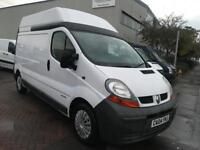 2004 04 RENAULT TRAFIC EXTRA HIGH ROOF IDEAL CAMPER OR DAY VAN CONVERSION SUPERB VAN LONG MOT NOVAT