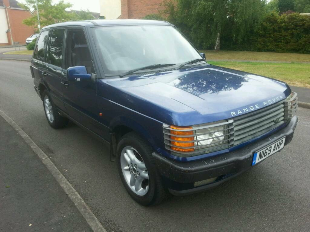 land rover range rover p38 2 5 dt diesel manual moted till 2018 4x4 blue air sus in measham. Black Bedroom Furniture Sets. Home Design Ideas