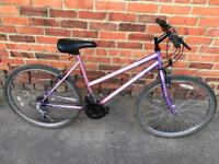 Universal Fusion Ladies Mountain Bike. Serviced, Free Lights, Lock & Delivery.