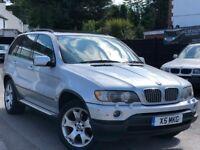 BMW X5 4.4 i Sport Full Service History Sunroof Sat/Nav 2 Keys Long MOT + Warranty