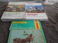Maintenance Manuals for motorcycles