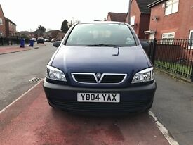 Vauxhall Zafira Life Blue 1.6 petrol Low mileage 1 previous owner