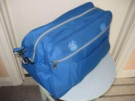 Light Blue Fabric Bag