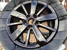 SUMMER SPECIAL - SET OF 4 ALLOY WHEELS REFURBISHED/COLOUR CHANGE FROM £100.00