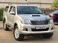 2014 Toyota hilux invincible 3.0 auto in immaculate condition through, full history, 1 owner, 3 keys