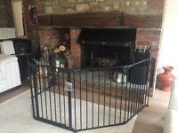 Baby Dan 5-Panel Fire Guard / Play Pen