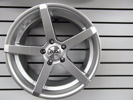 "Full set of 18"" AVA Miami alloy wheels"