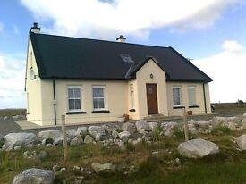 Long Weekend Break in Donegal , Derryreel Cottage near Dunfanaghy on Wild Atlantic Way