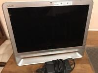 Sony Vaio all in one, core2duo, 2GB RAM, 500GB HDD, Win7