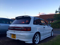 MK1 TOYOTA STARLET GT TURBO - RARE SUNROOF MODEL JDM JAPANESE IMPORT - EP82 EP91 GLANZA