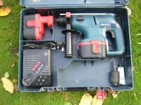 Bosch gbh 24v sds hammer drill batteries and charger