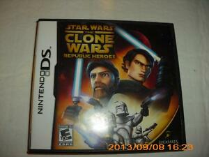 STAR WARS REPUBLIC HEROES NINTENDO DS GAME
