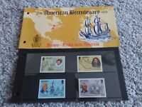 American Bicentenary mint stamp set