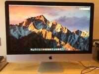 "Apple IMAC 27"" 2010, 2.8, I5, Quad Core, 1 tb SSD, 16gb RAM"