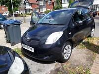 Cheap black 1 litre Toyota Yaris FOR SALE