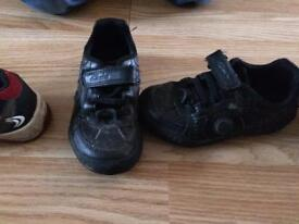 Boys trainers an school shoes size 7 1/2 e