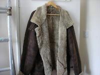 sheepskin flying jacket
