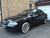 2001 AUDI A4 1.8 PETROL 12 MONTH MOT SWAP PX WELCOME