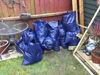 20 bags of topsoil