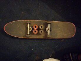Enjoi skateboard + extras