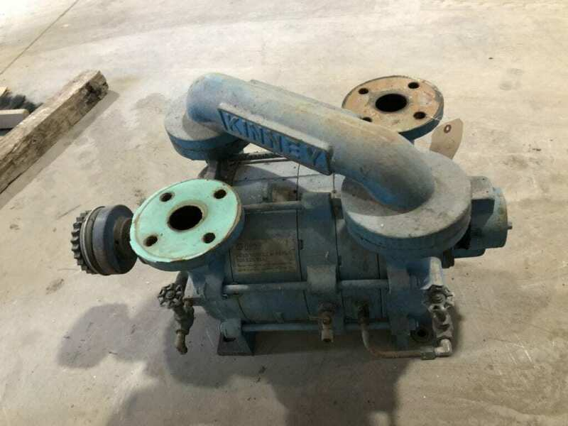 Tuthill Kinney KLRC-200-HLA2 CI Two-Stage Liquid Ring Vacuum Pump 15HP 8GPM