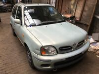 NISSAN MICRA 1.0 PETROL BREAKING 2001 FOR SPARES 1X WHEEL NUT