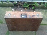 JOINERS TOOL BOX FROM 1960's WITH TOOLS
