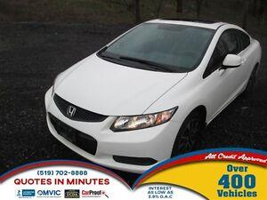 2013 Honda Civic EX | SUNROOF | HEATED SEATS |