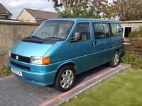 VW T4 SYNCRO : 1995 - Volkswagen Caravelle 8 Seater 2.5 Petrol GL 4x4 - A Very Rare Model