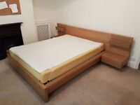 KING BED IKEA - MUST GO