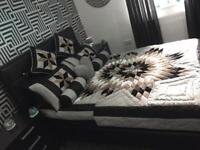 Black diamond bed