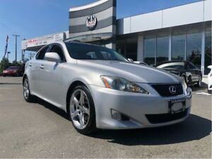 2008 Lexus IS 250 Fully Loaded Luxury Edition Only 129,000KM