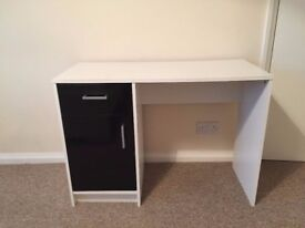 Ikea White and Brown Study Table - Mint condition