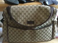 Gucci baby bag