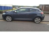RENAULT MEGANE COUPE 3dr 2dr blue NV472 2010 FULL PASSENGER DOOR WITHOUT MIRROR LTN £201