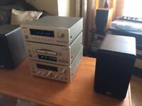 TEAC AV-H500D AMP SET UP
