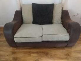 2 seater sofa - Now £40