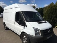 Ford transit 100t350 lwb hi top 2011 61 reg long mot side door no vat