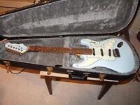 TRADE THIS BURNS COBRA WITH TRI-SONIC PICKUPS