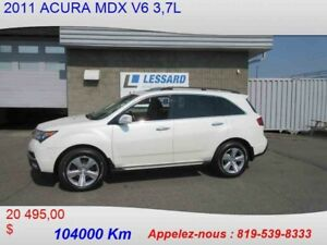 2011 ACURA MDX TRACTION INTÉGRALE, 4 PORTES
