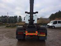 DAF LF55.220 c/w HL19 multilift hookloader
