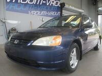2001 Honda Civic DX Sedan