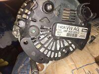 vw starter and alternator 6 speed