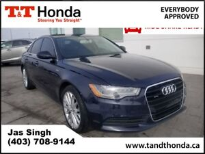 2012 Audi A6 3.0 Premium Plus* Rear Camera, Heated Seats*