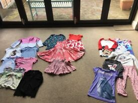 Girls clothes bundle 5-6 years