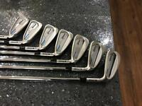 Ping E1 i irons 4-PW project X shafts superb
